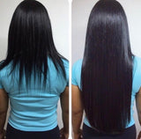 Hair extensions Black #1 18""
