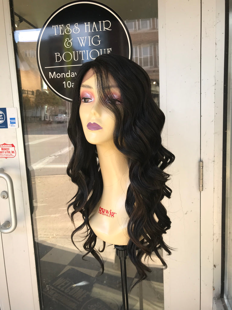 Black Lacefront Deep Wave Wig 2019 Chicago