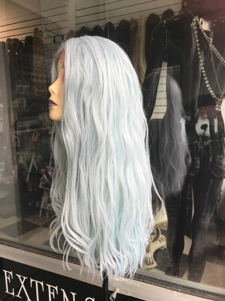 Mint green wig anime cosplay 2019