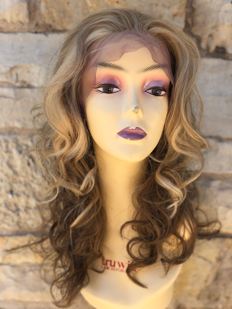 Cosmic Blonde mix Affordable wig