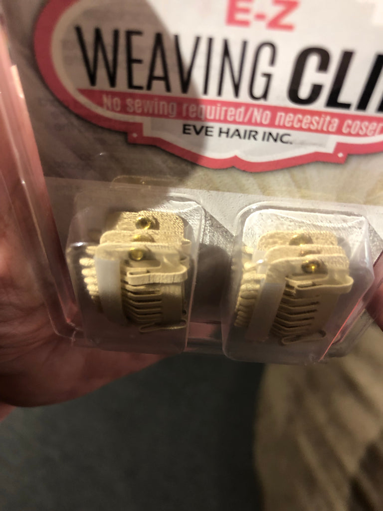 Weave clips