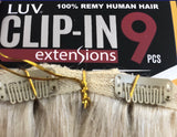 Human hair extensions 18""