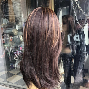 Angelic brown highlights