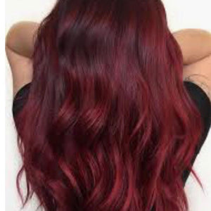 Hair extensions Red Wine
