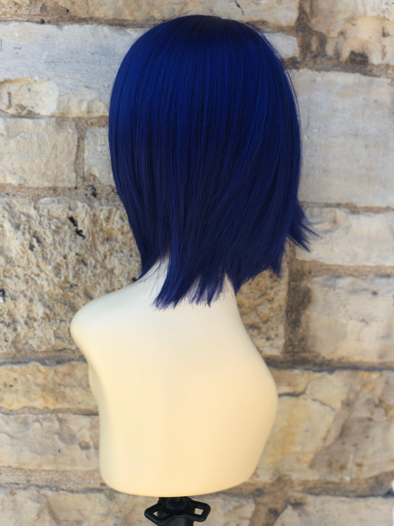 Blue Bob Cute Cheap Wig