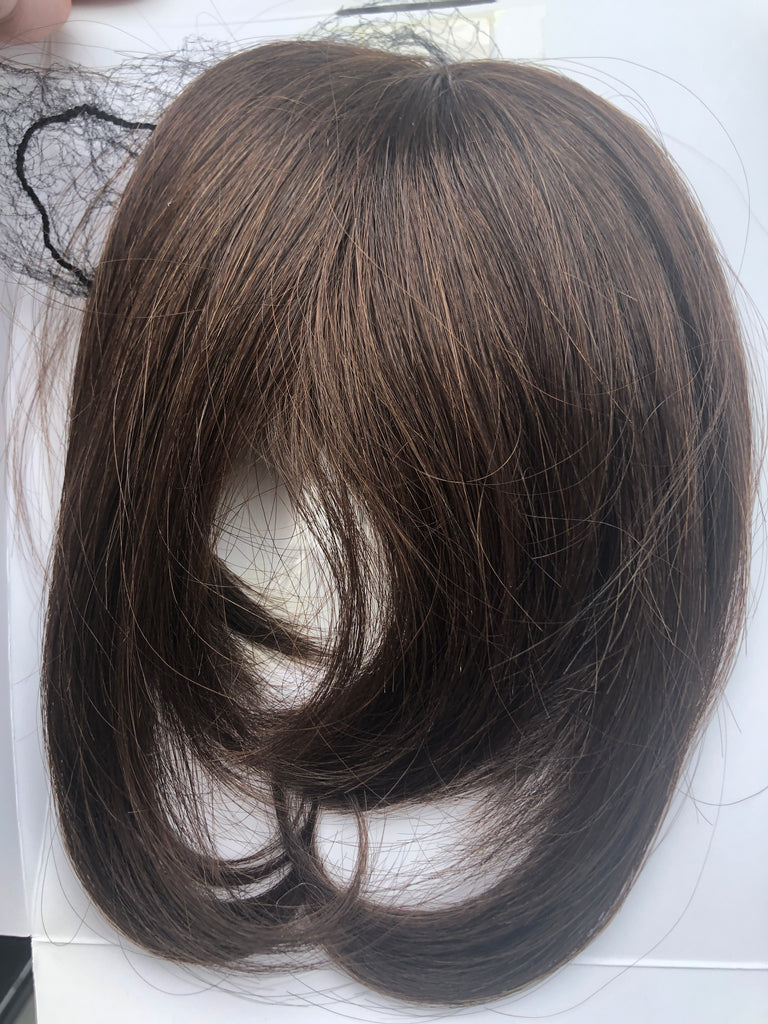 Hair Topper pcs Pure Clipin bang