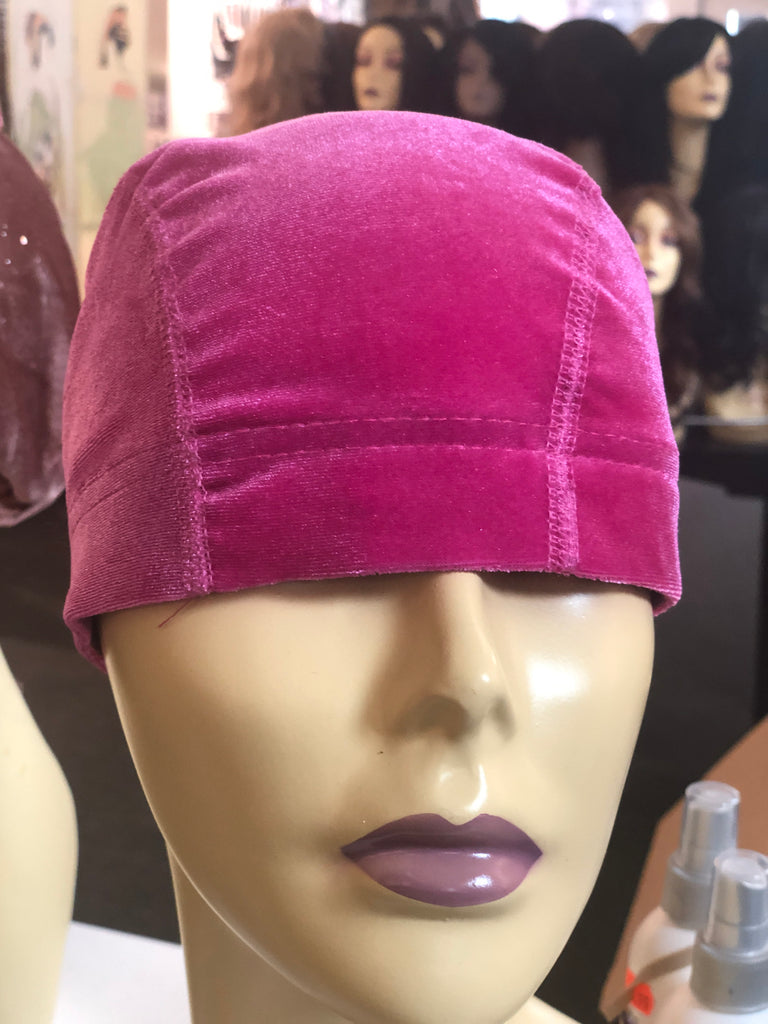 Pink chemo cap