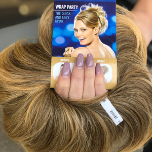 Ponytail wrap hair piece