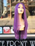 Purple Costume wig Halloween Wig Ideas