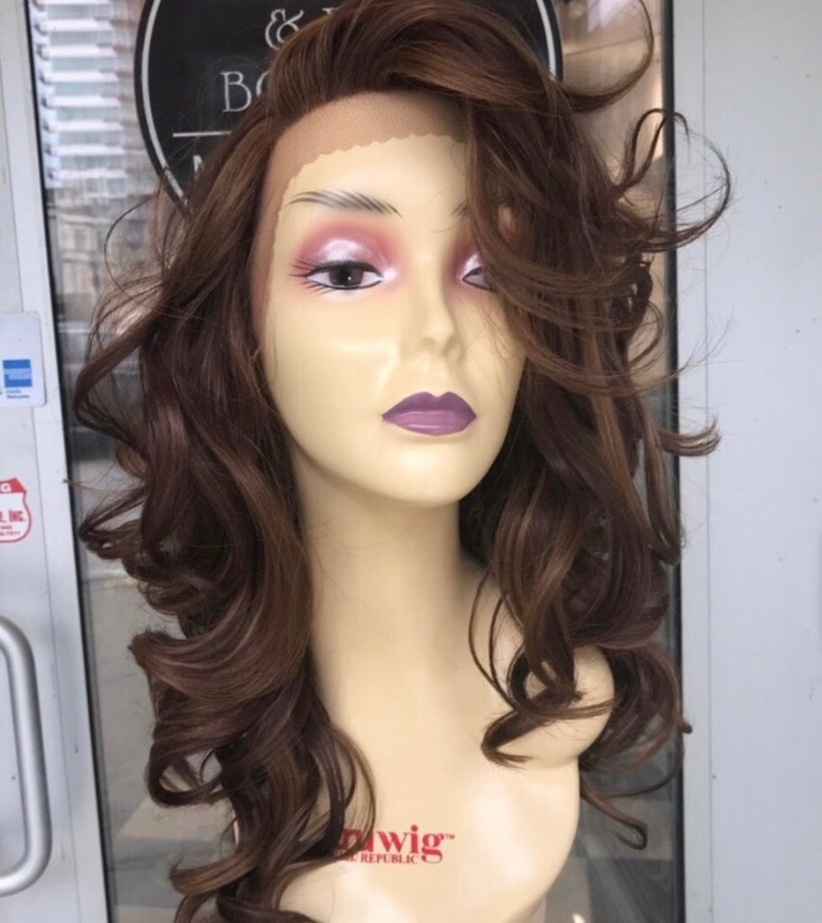 Copper Brown Lacefront Wig 2019 hairstyle Miami