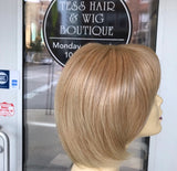 Full lace bob blonde mix wig short 2019