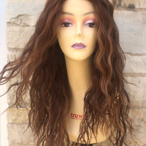 Pamela Transparent Lace Wig