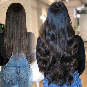 Hair extensions Dark Brown 22""