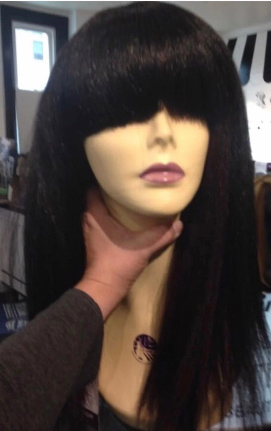 China Bang Wig Cleopatra Halloween Wig