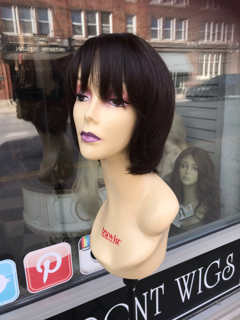 Brown bob wig sale full lace 2019 wig