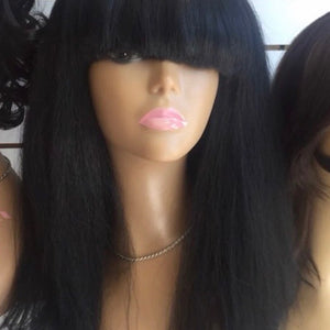 Black china Bang Wig Black chicago 2019