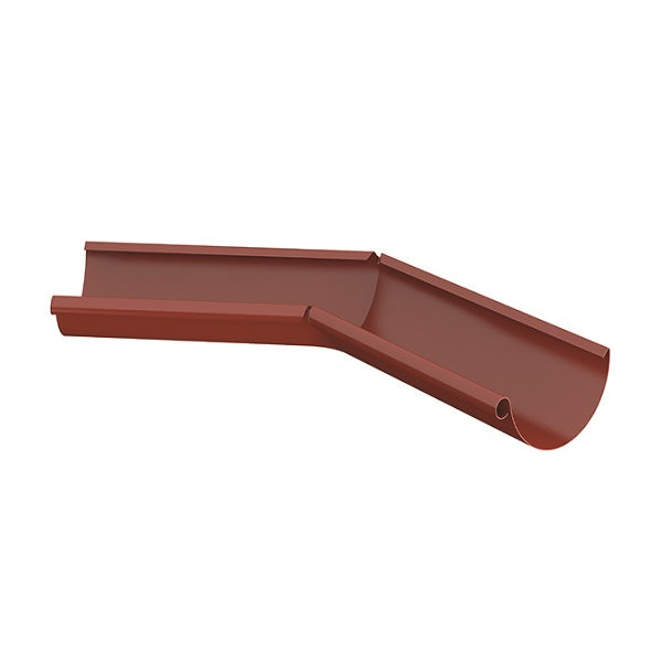 Lindab Steel Half Round Gutter 135 Degree Angle Internal