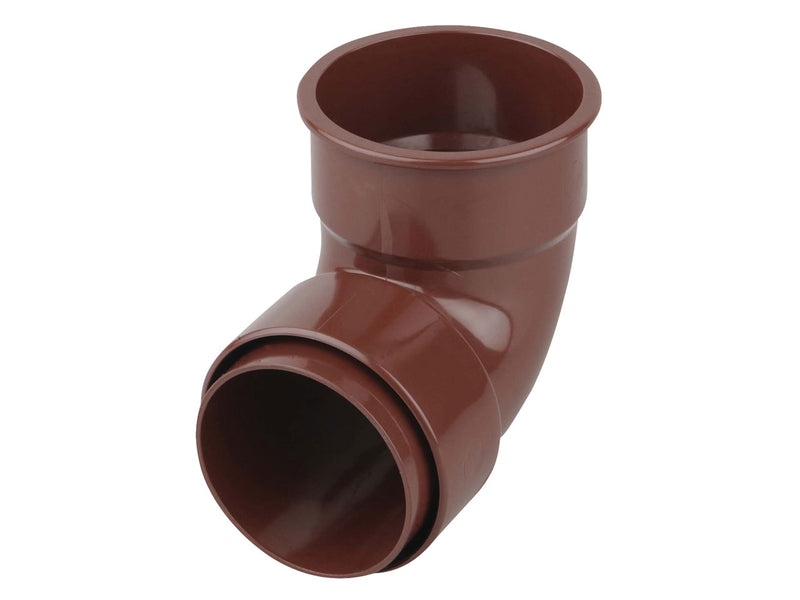 0T161 - Osma Round 68mm Downpipe Pipe Bend 87.5 Degree
