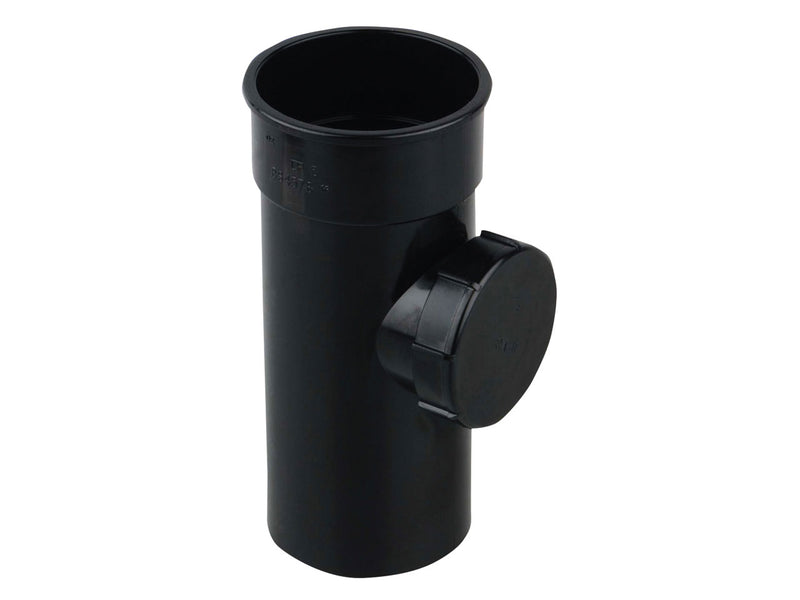 0T274 - Osma 68mm Round Downpipe Access Pipe - with Screwed Door