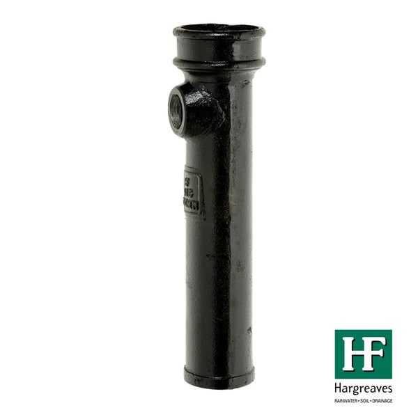 "Cast Iron LCC Soil Bossed Pipe - 2"" Bspt - 610mm"