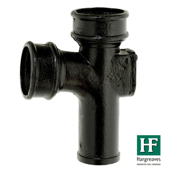 Cast Iron LCC Soil Pipe Equal Branch 92.5 Degree -with Door