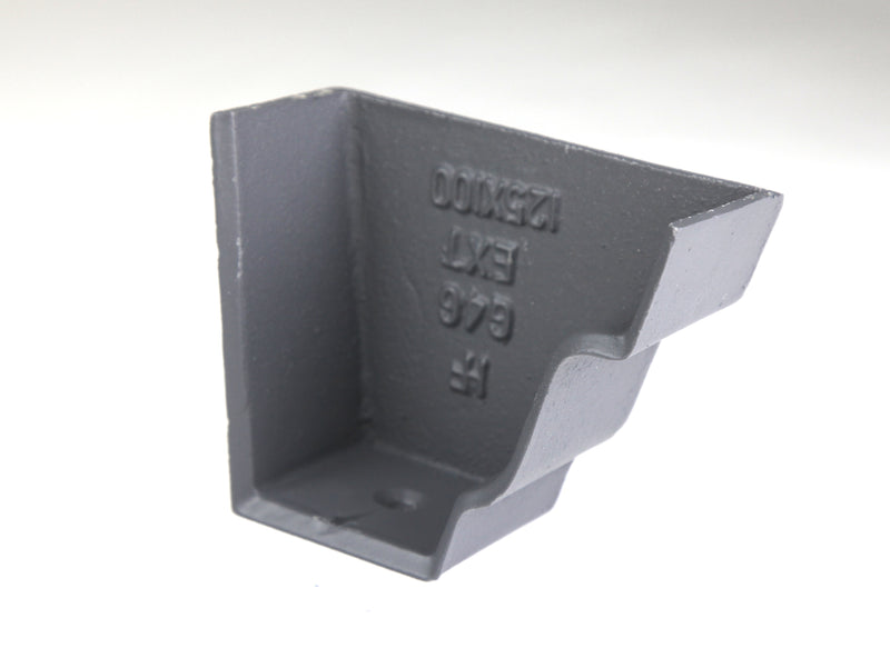Cast Iron Moulded Ogee G46 Stopend External (Right Hand)