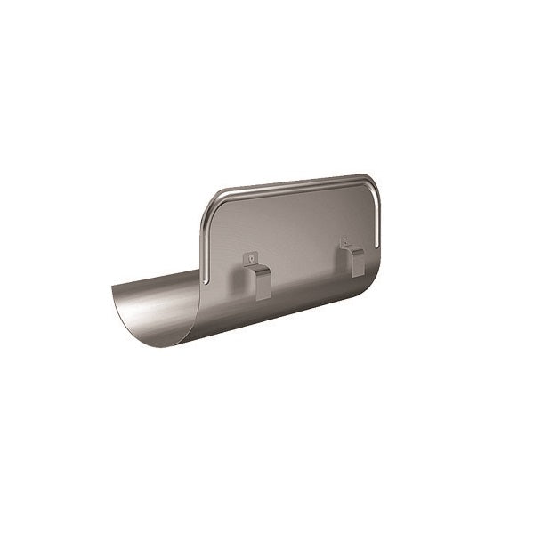 Lindab Steel Gutter Straight Overflow Protector