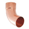 Lindab Steel Round Pipe Bend with Socket- 70 Degree