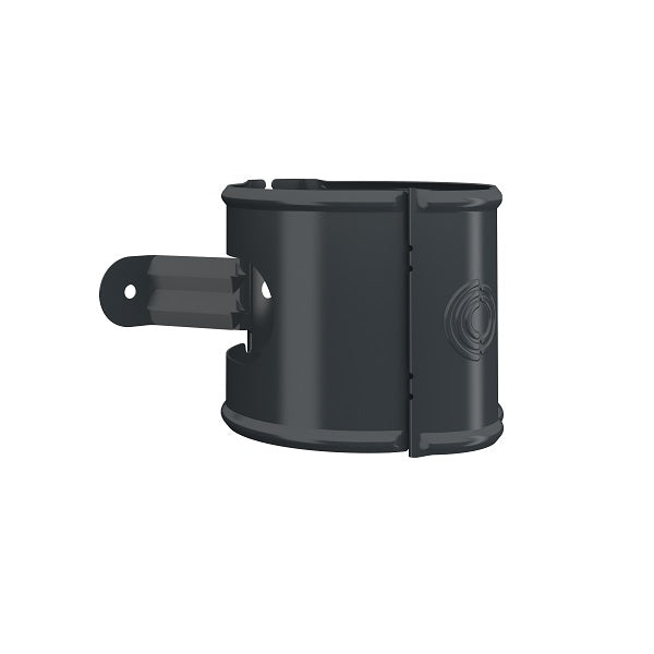 Lindab Steel Round Downpipe Bracket