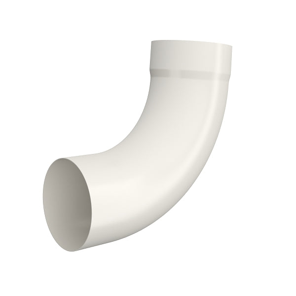 Lindab Steel Round Pipe Bend with Socket - 85 Degree