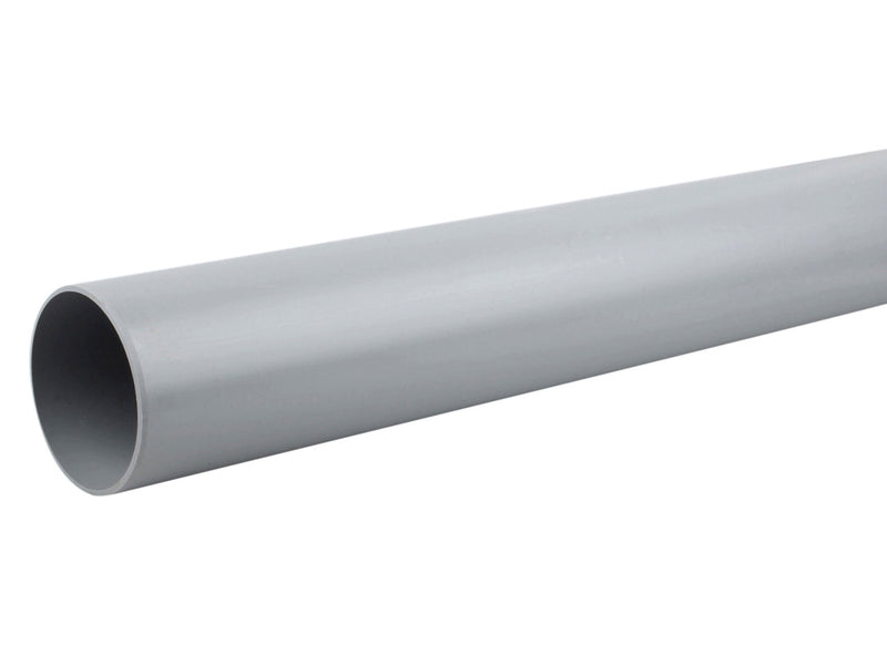 4S074 - Osma 110mm Round Downpipe - 4mtr