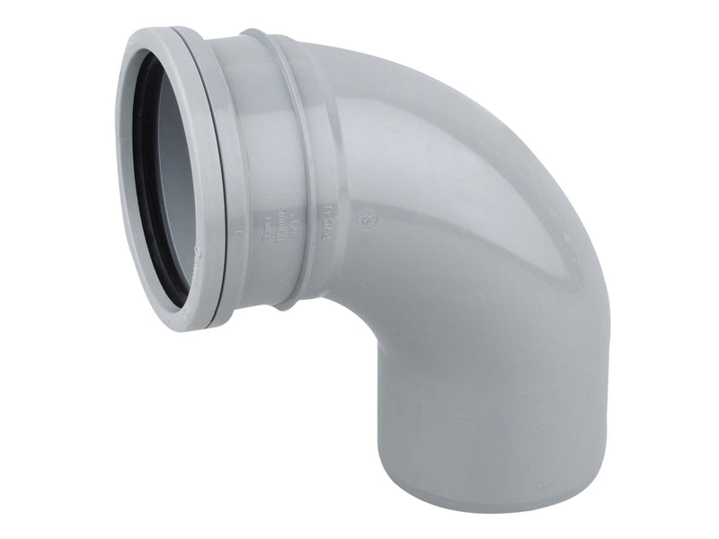 4S161 - Osma 110mm Downpipe Bend 87.5 Degree