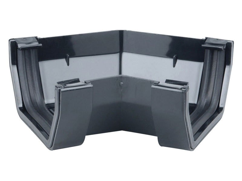 4T804 - Osma 100mm Square Line Gutter 45 Degree Angle