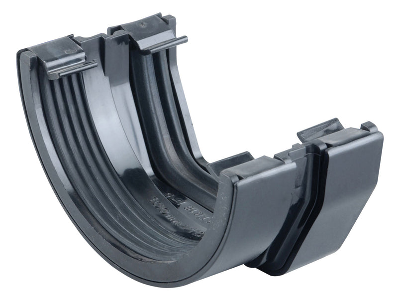 4T818 - Osma 100mm Square Line to 112mm Half Round Gutter Connector