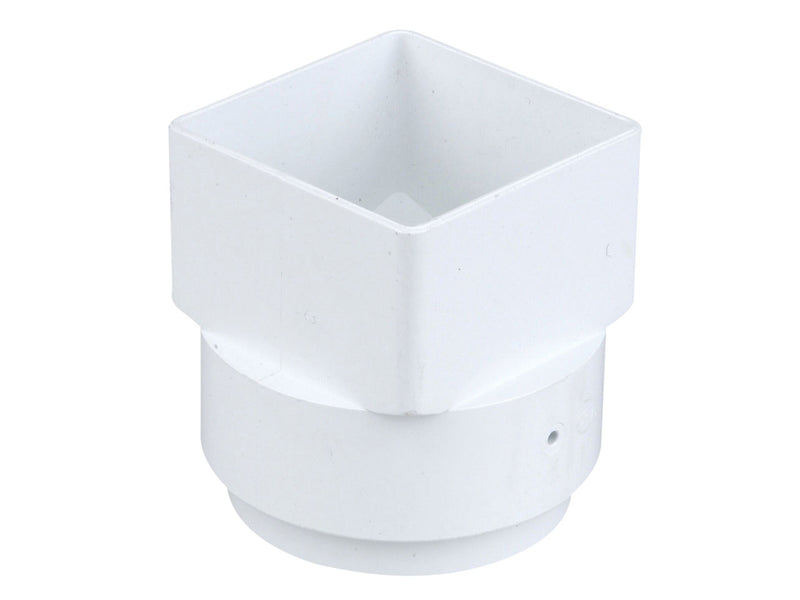4T837 - Osma Outlet Adaptor - 62mm Square to 68mm Round