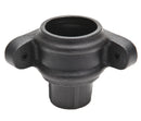 "BR2506LCI- Brett Martin ""Cast Iron Style""  68mm Corner Pipe Coupler with Lugs"