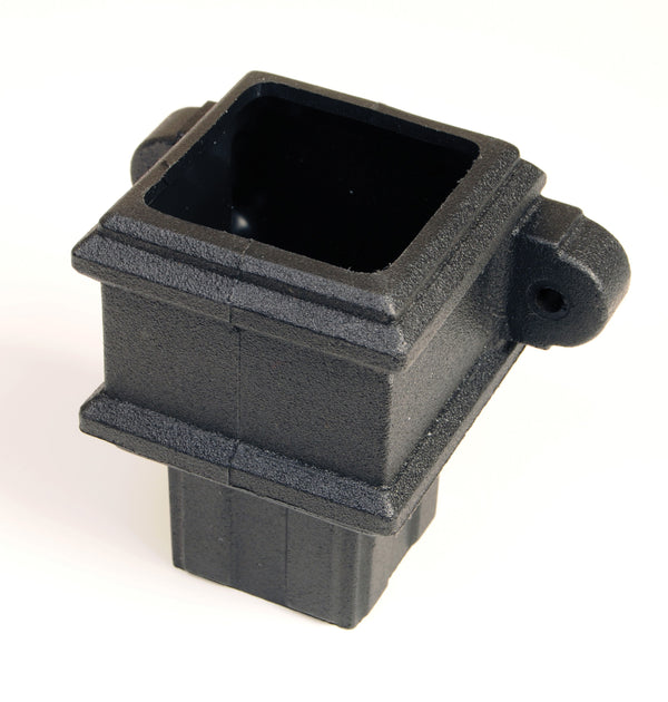 "BR506LCI- Brett Martin ""Cast Iron Style"" 65mm Square Pipe Coupler with Lugs"