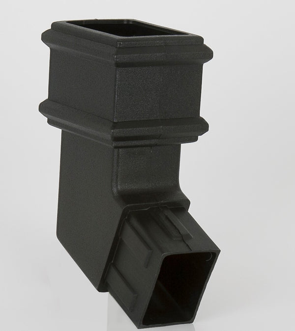 "BR821CI- Brett Martin ""Cast Iron Style"" 100mm x 75mm Rectangular Side Bend - 112.5 Degree"