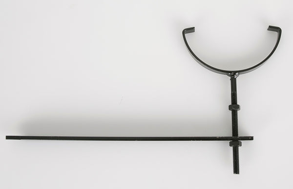 "BRF9CI - Brett Martin ""Cast Iron Style"" 170mm High Capacity Rise & Fall Bracket - Coated Black"