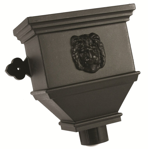 "BRH55LNCI- Brett Martin ""Cast Iron Style"" Bath Hopper Lion - 105mm Outlet"