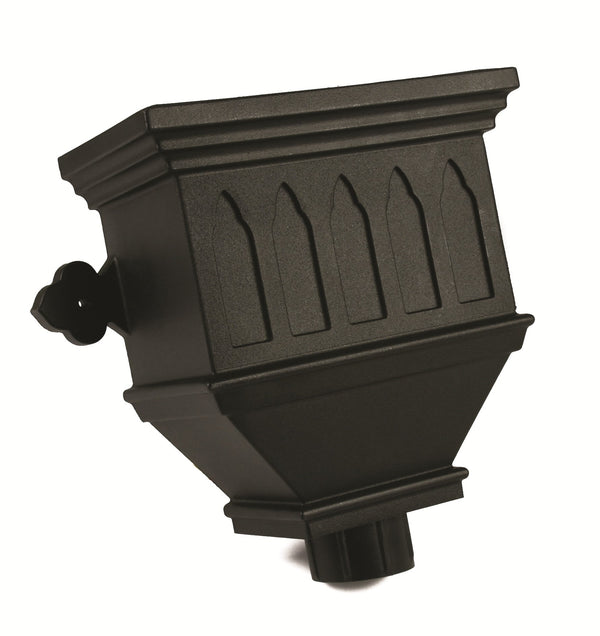 "BRH55WICI- Brett Martin ""Cast Iron Style"" Bath Hopper Windowed - 105mm Outlet"