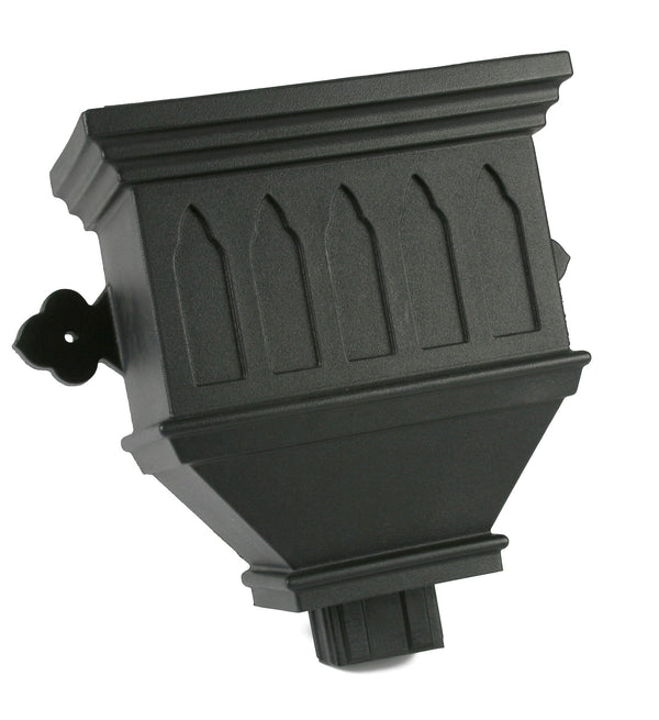 "BRH84WICI- Brett Martin ""Cast Iron Style"" Bath Hopper Windowed - 100mm x 75mm Outlet"