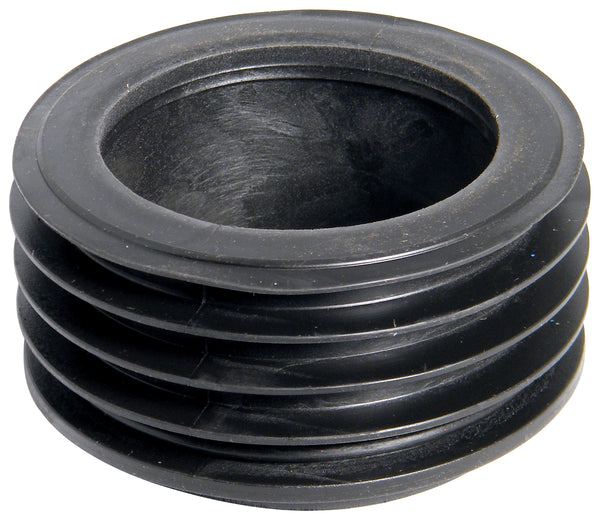 D97 - Floplast Universal Rainwater Adaptor - 80mm Round Connects to 110mm Drainage