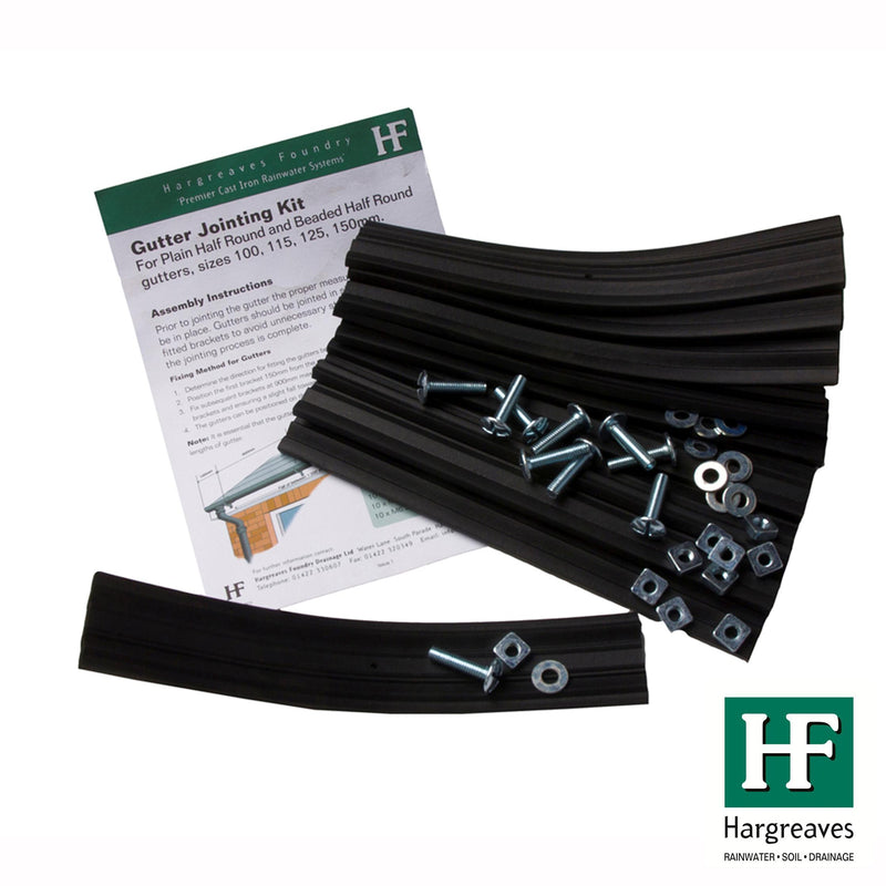 Cast Iron Half Round Gutter Jointing Kit