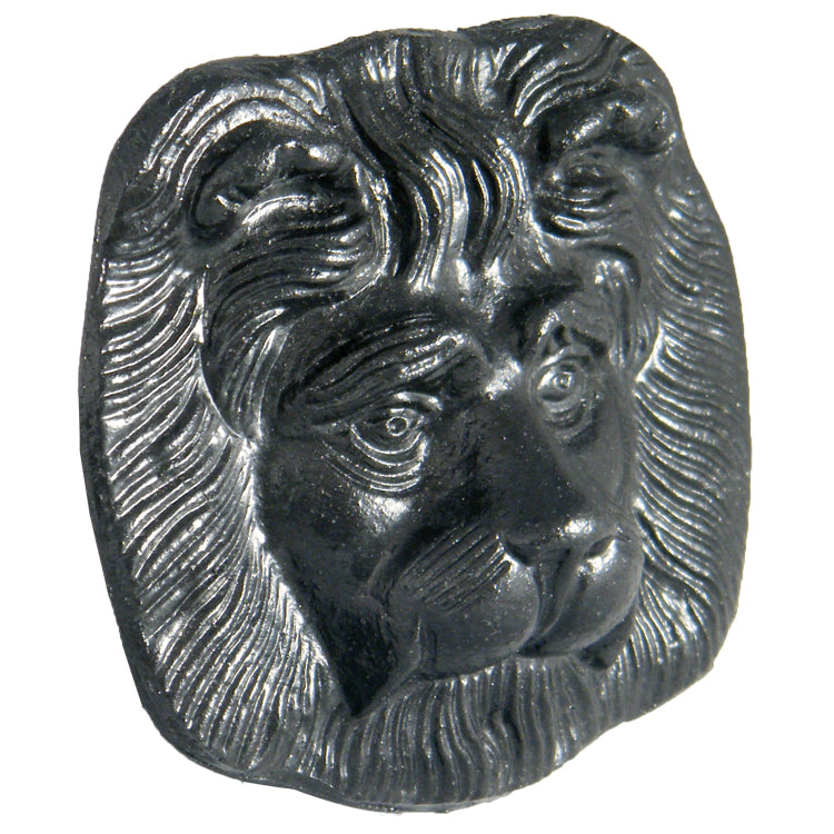 "LH55 -Floplast  ""Cast Iron Style"" Lion's Head Motif for Hopper - 75mm"