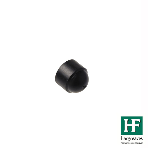 M8 Plastic Coach Screw Caps - Black