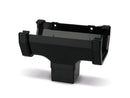 RWSO1 - Marshall Tufflex Square Line 114mm Gutter Running Outlet - To Fit 65mm Square
