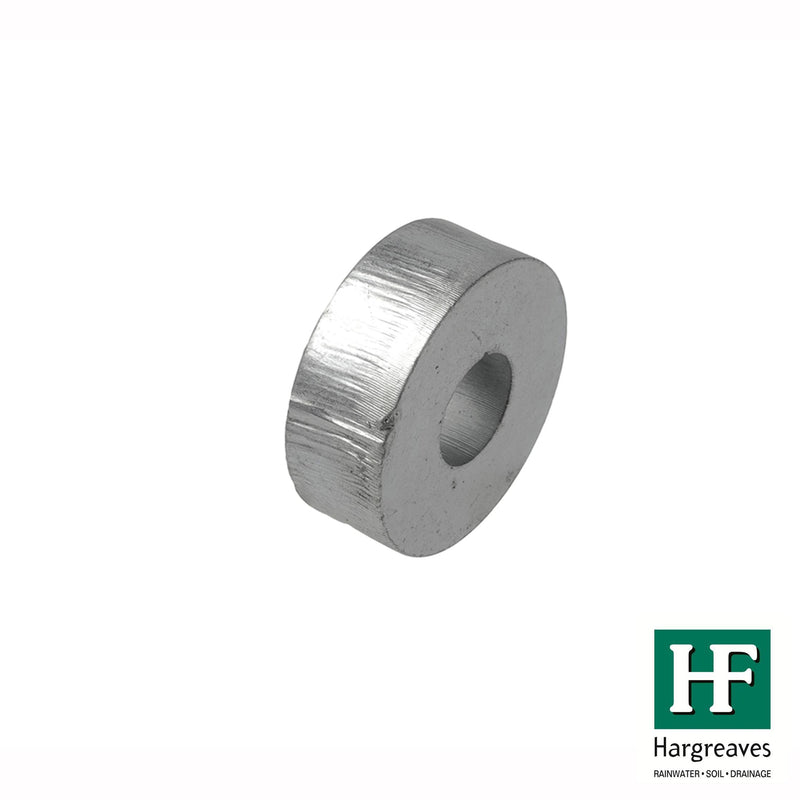 Metal Pipe Spacer - 13mm Projection
