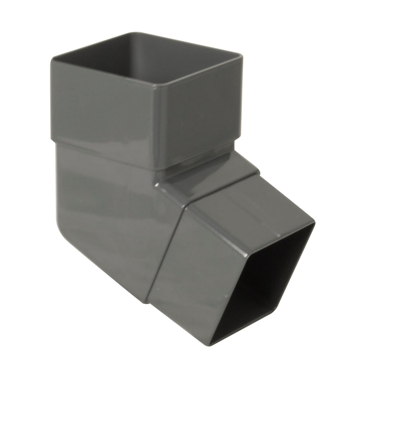 RBS2 - Floplast 65mm Square Pipe Offset Bend - 112.5 Degree