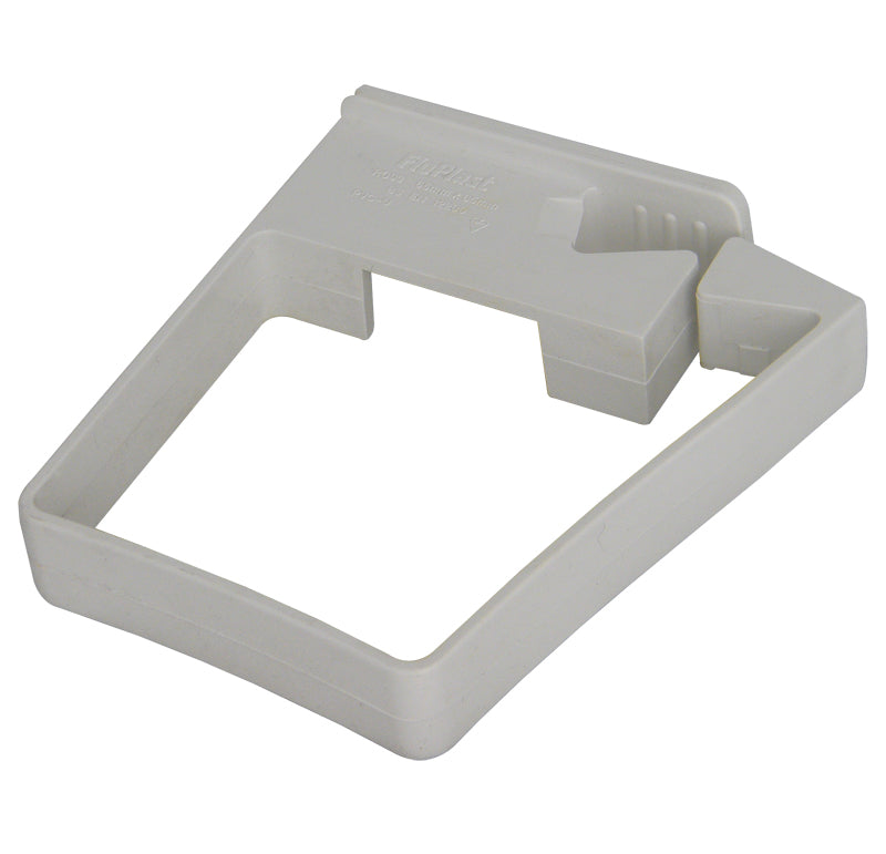 RCS3 - Floplast 65mm Square Pipe Clip- Single Fix